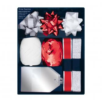 Silver & Red Wrap Accessory Pack