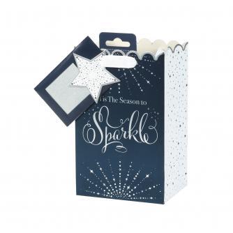 Tom Smith Midnight Celebration Luxury Gift Bag - Small