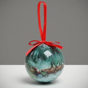 Dashing Through the Snow Bauble