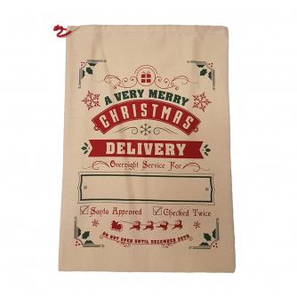 Customisable Hessian Christmas Delivery Sack
