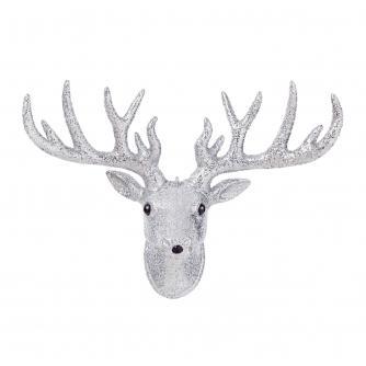 Glitter Reindeer Wall Decoration