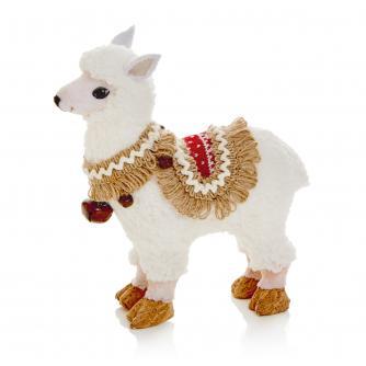 Small White Llama