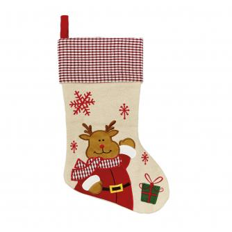 Rudolph the Reindeer Christmas Stocking