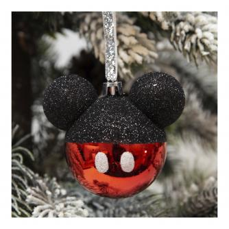 Disney Mickey Mouse Glass Bauble