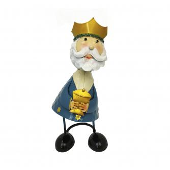 Wobbling Head King Decorations - Blue