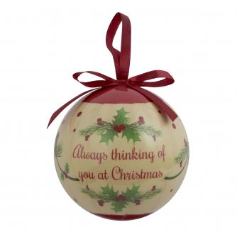 Christmas Remembrance Bauble