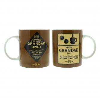 Cancer Research UK Online Shop, Father's Day Gifts, Special Grandad Roadsign Gift Set