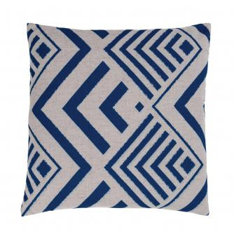 Blue Arrow Print Scatter Cushion