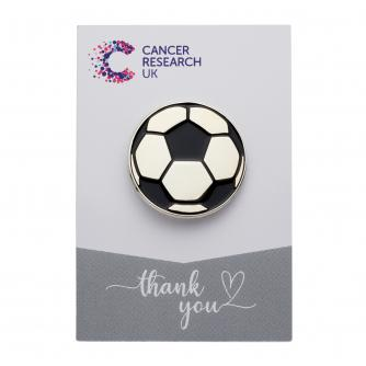 Football Pin Badge