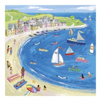 Sunny Sunday Afternoon Greetings Card