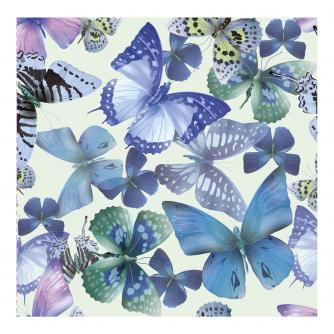 Beautiful Blue Butterflies Greetings Card