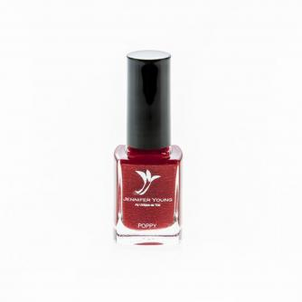 Jennifer Young® High Coverage Nail Varnish Poppy Red