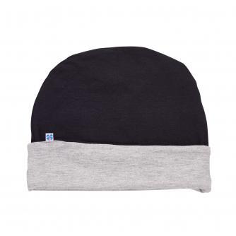 Hipheadwear Mens Reversible Beanie in Black/Grey