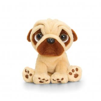 Keel Toys Pugsley The Pug Soft Toy