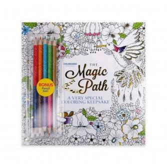 JML Colorama Magic Path Colouring Book