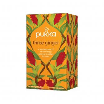 PUKKA® Three Ginger Tea