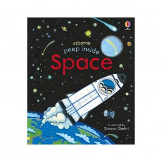 Usborne Peep Inside Space Book