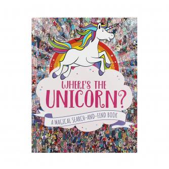 Where's The Unicorn? A Magical Search & Find Book