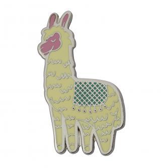 Llama Novelty Pin Badge