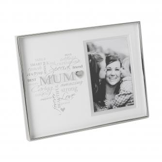 Mum Heart Frame, Mother's Day Gifts, Cancer Research UK