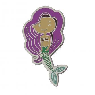 Mermaid Novelty Pin Badge