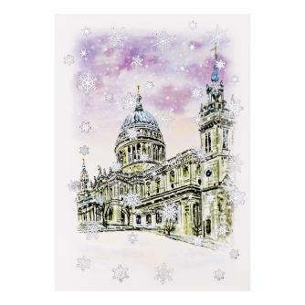 St Paul's Cathedral Christmas Cards - Pack of 10