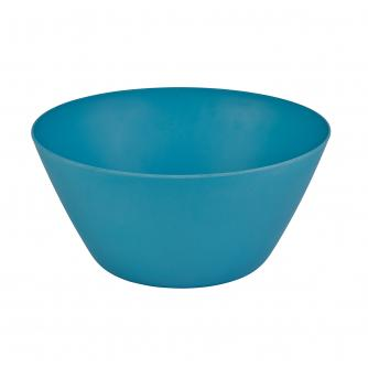 Blue Bamboo Salad Bowl