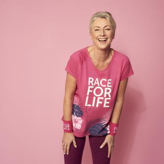 Race for Life 2019 Tropical Detail Loose Fit T-shirt