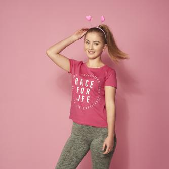 Race for Life 2019 Iconic Logo Teen T-shirt