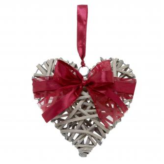 Rattan Heart Cancer Research UK Christmas Gift