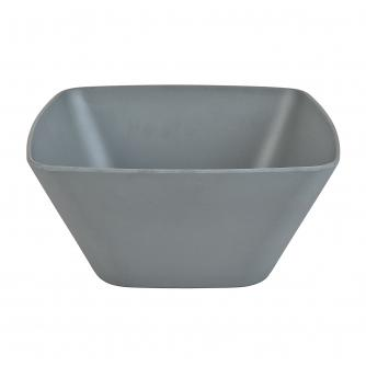 Grey Bamboo Salad Bowl