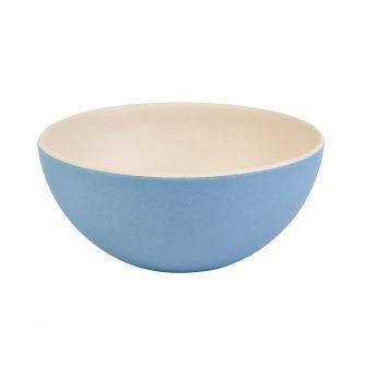 Blue 2-Tone Bamboo Bowl
