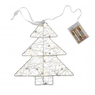 Silver LED Christmas Tree Light