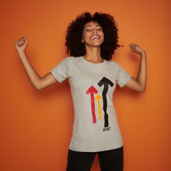 Stand Up To Cancer Women's Grey T-shirt
