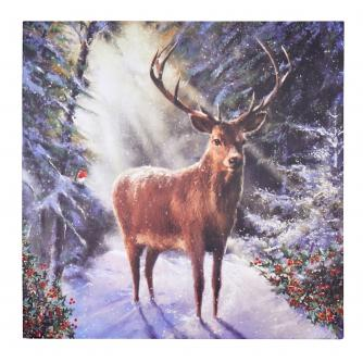 Statuesque Reindeer Christmas Cards - Pack of 20