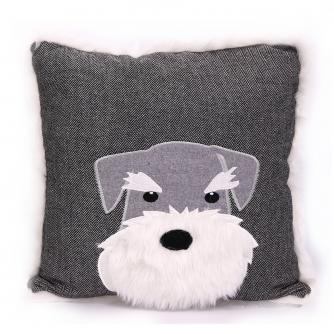 Scotty Dog Grey Cushion