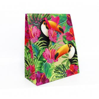 Tropical Large Toucan Gift Bag