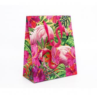 Tropical Medium Flamingo Gift Bag