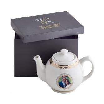 Harry and Meghan Royal Wedding China Teapot