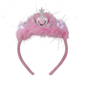Shine Night Walk Flashing Pink Tiara