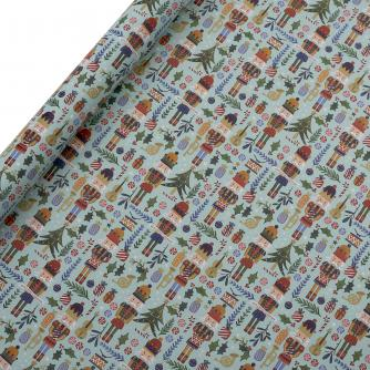 Tom Smith Blue The Nutcracker Wrapping Paper