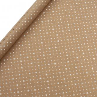 Tom Smith Gold Shiny Stars Wrapping Paper