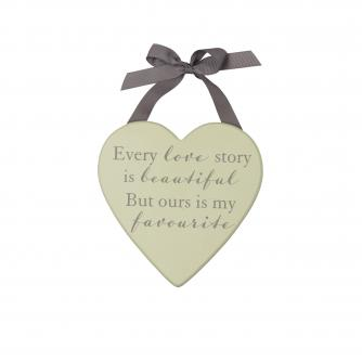 Love Story Plaque, Wedding Gifts, Cancer Research UK