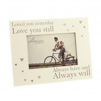 Loved You Yesterday Frame, Wedding Gifts, Cancer Research UK