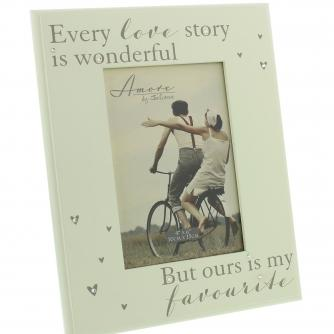 Every Love Story Frame, Wedding Gifts, Cancer Research UK