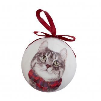 Winter Cat Bauble