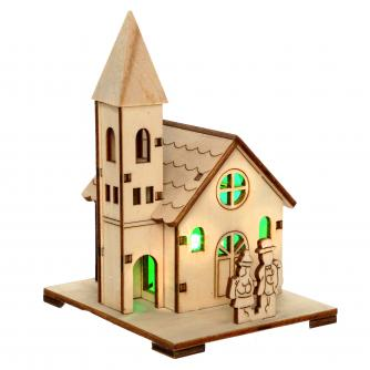 mini led church cancer research uk christmas gift
