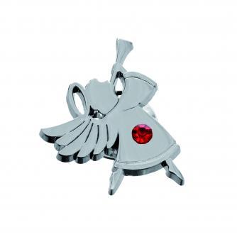 angel pin badge, xmas