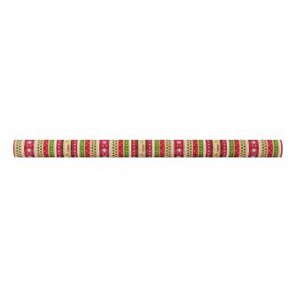 Kraft Christmas Wishes rolled wrap, cancer research uk