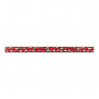 Red Festive Foliage rolled wrap cancer research uk
